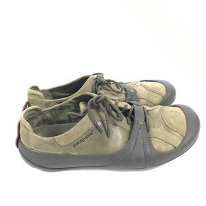 83f550a4e3c8 Patagonia Shoes - Patagonia Leather Sneakers Toast   Jam Outsole 35
